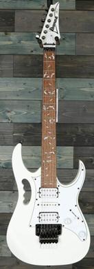 Ibanez JEMJR WH Steve Vai sign. guitarpoll