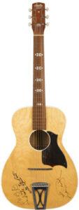 Stella 1940 Harmony acoustic guitarpoll