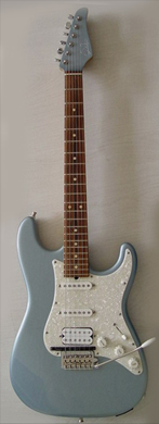 Suhr Classic Ice Blue with GK3 pickup guitarpoll