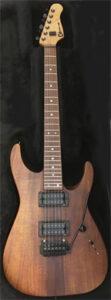Charvel custom Koa 2005 op guitarpoll