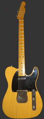 Fender 1950 Broadcaster guitarpoll