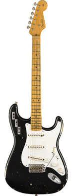 Fender 1955 Stratocaster Howard Reed Black guitarpoll