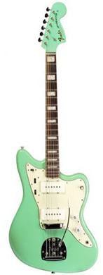 Fender 1966 Jazzmaster Sea Foam Green guitarpoll