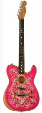 Fender 2021 Paisley Acoustasonic Telecaster guitarpoll