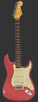 Fender 1961 Fiesta Red Stratocaster guitarpoll