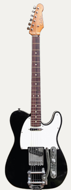 JW Black Telecaster bigsby tremelo guitarpoll
