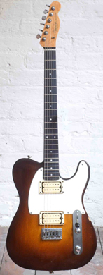 Eccleshall Custom build Telecaster Gibson PAF's guitarpoll