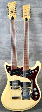 Mosrite 1968 Joe Maphis Double Neck guitarpoll