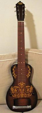 Oahu 1940 Diana Deluxe Hawiian Lap steel guitarpoll