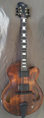 Victor Baker Model 15 Full Hollow guitarpoll