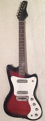 Danelectro 1968 Silvertone 1452 Hornet guitarpoll