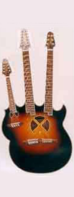 Andy Manson 1994 triple neck guitarpoll