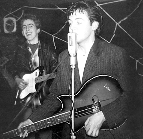 Egmond Rosetti Solid 7 bas van Paul McCartney guitarpoll