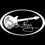 logo brian may guitars guitarpoll