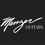 logo manzer guitars guitarpoll