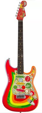 Fender 1961 Stratocaster psychedelic guitarpoll
