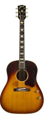 Gibson 1962 J-160E electrified Jumbo acoustic guitarpoll
