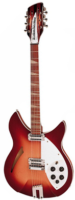 Rickenbacker 1963 360 12-string Fire-glo guitarpoll