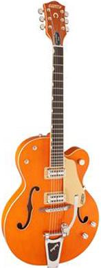 Gretsch 6120 Nashville Vintage Orange Lacquer guitarpoll