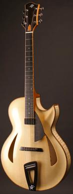 Heeres Montreux Archtop guitarpoll